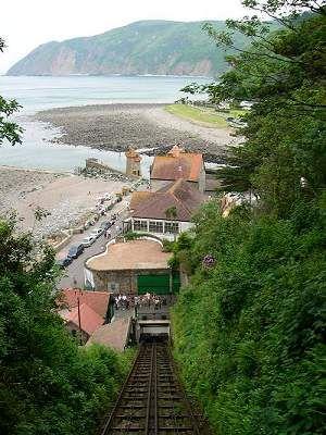 Lynton & Lynmouth railway, Devon, England