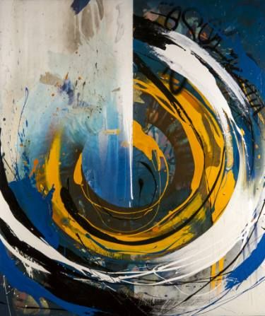 "Saatchi Art Artist Emanuele Vittorioso; Painting, """"The Blue, Due Prima"""" #art"