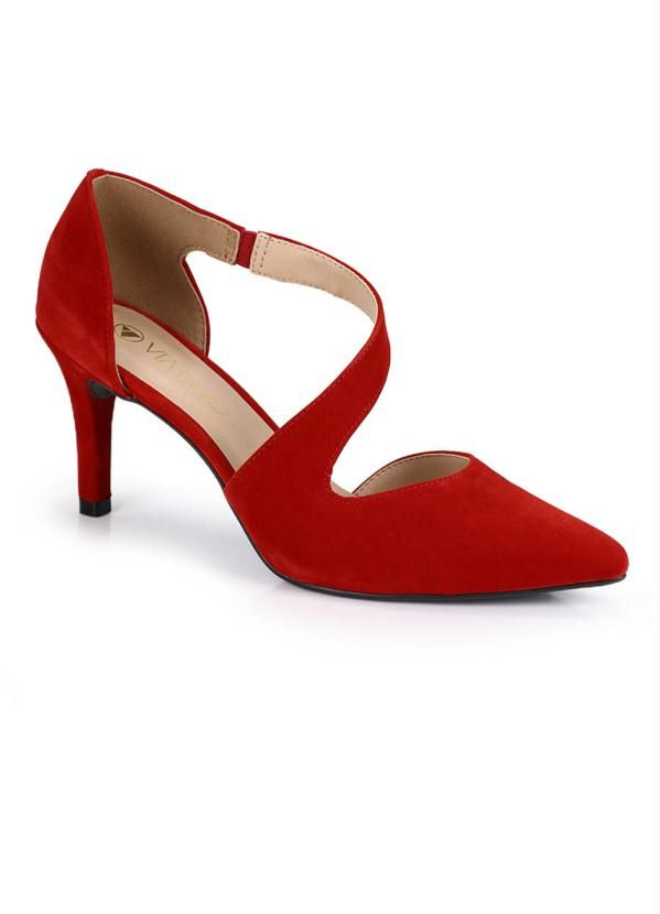 Scarpin Via Uno Red Shoe   – Products
