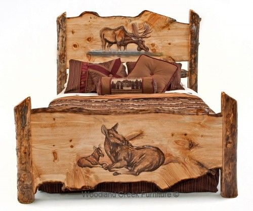 Best 20 Log Bed Ideas On Pinterest Log Bed Frame Log Furniture And Timber Bed Frames