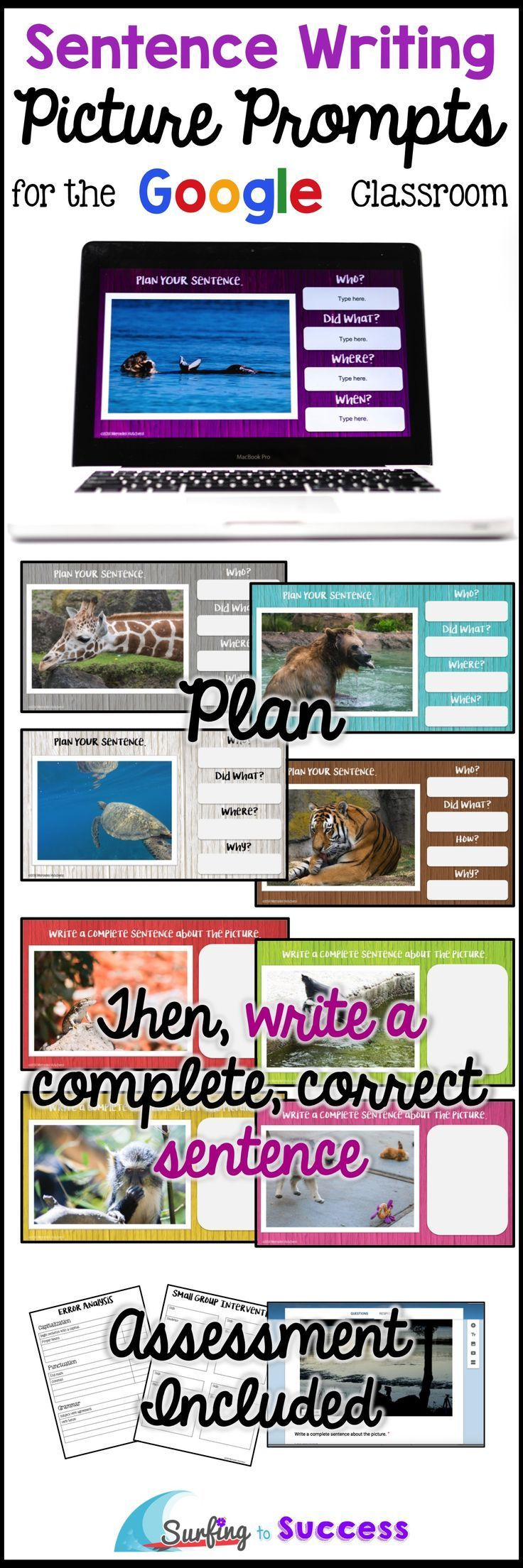 writing a complete sentence