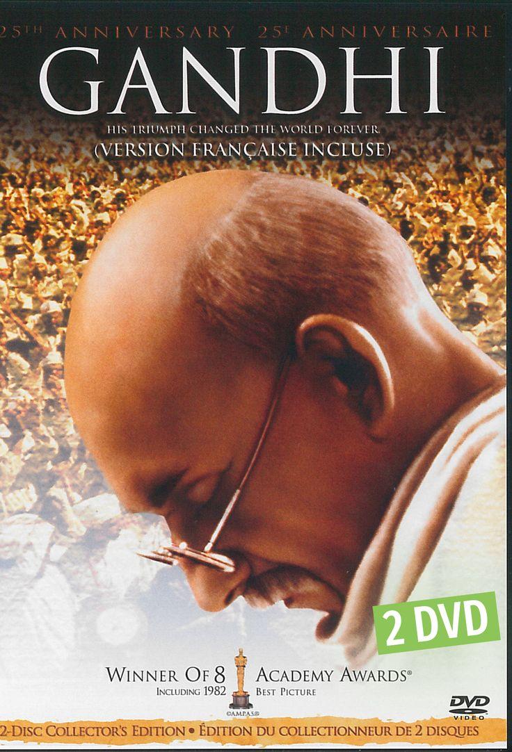 Gandhi - 2 DVD -   Durée : 191 minutes -   Langue : Français - Anglais -   Référence : 00059378 #Dvd #Cadeau #Film #Cadeau #Vacance #Chalet