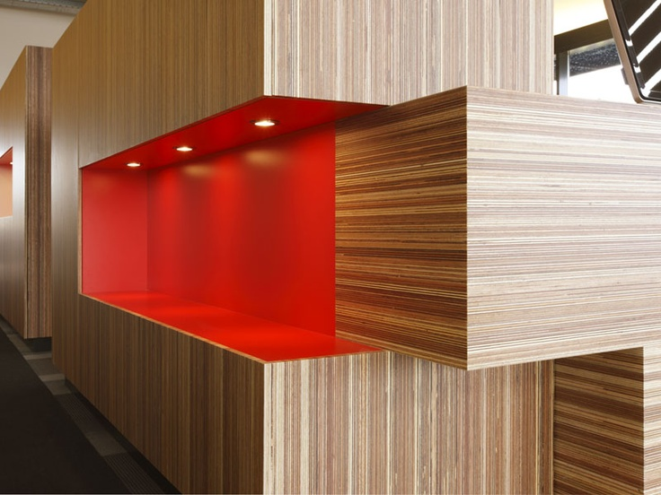 Wooden wall tiles Panel Two Sided - Plexwood