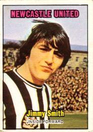 Nigel's Webspace - A&BC Chewing Gum - 1970/71, Footballers, Orange backs, Newcastle United
