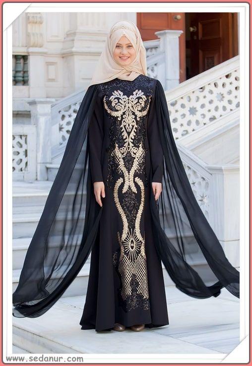 c2280b266721b En Güzel Tesettürlü Abiye Modelleri 2019 Lookbook 👗   Abiye & Elbise  Modelleri   Elbise modelleri, Giyim, Moda