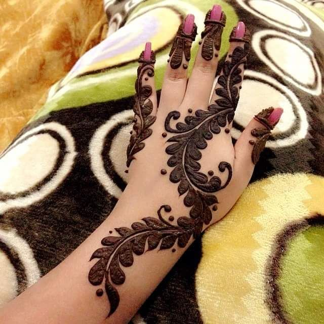 simple mehndi designs for hands latest | mehndi designs for hands
