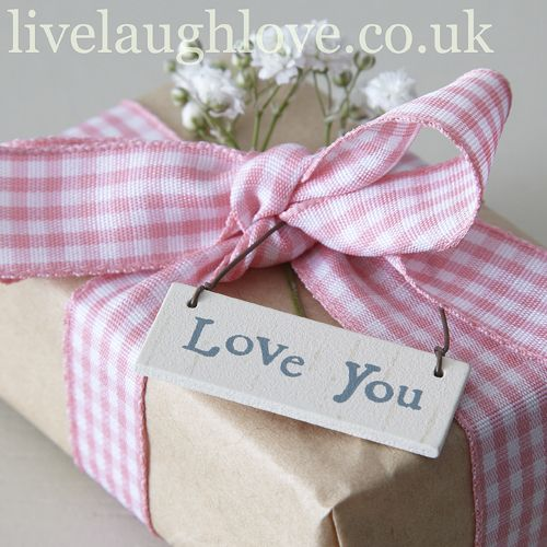 Little hanging Sign-Love You