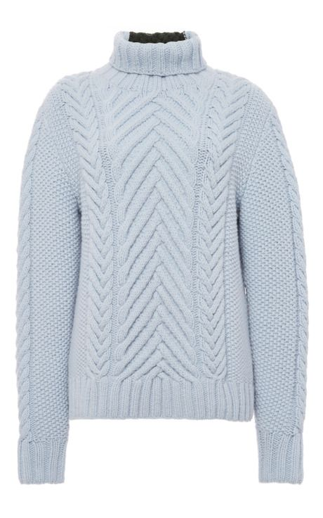 Orley Chevron Stitch Turtleneck by Orley for Preorder on Moda Operandi