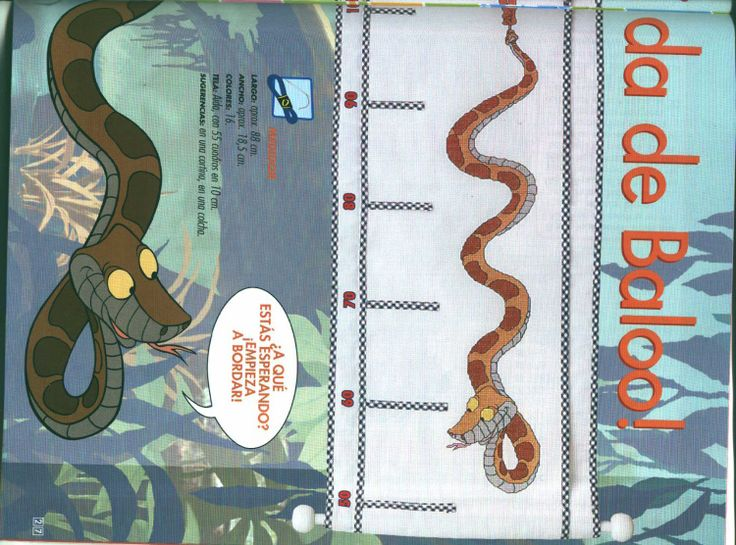 Jungle Book growth chart 2 of 6