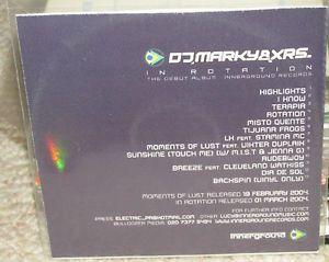 DJ-Marky-XRS-In-Rotation-CDr-Album-Promo
