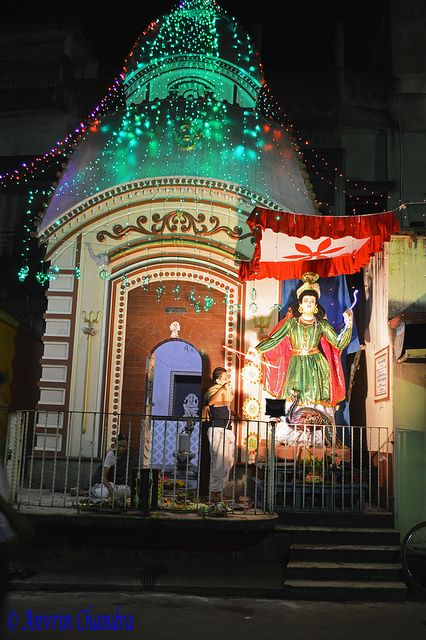 Kartik Puja in Chuchura/ Chinsurah. The town of Hooghly-Chuchura or Chinsurah was founded by the Portuguese in 1579, but the district has thousands of years of heritage in the form of the great kingdom of Bhurshut.Also Chuchura was a Dutch colony in 16th century (1656). The British later took over the town.   Chuchura has many historical landmarks associated and is famous as well for its cultural heritage. Chuchura is the administrative headquarters of the district of Hooghly.
