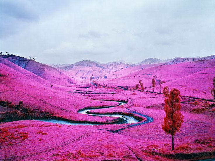 Un paysage congolais époustouflant immortalisé par la photographie infrarouge