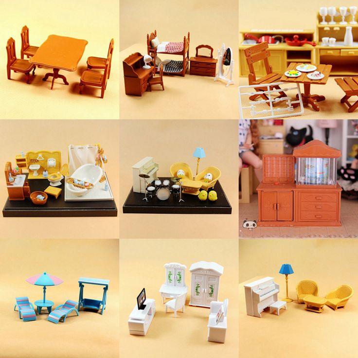Oltre 25 fantastiche idee su mobili dollhouse su pinterest - Bagno in miniatura ...