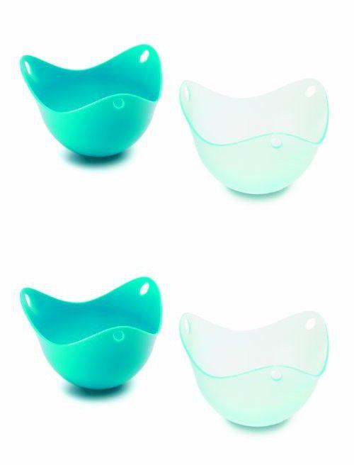Fusionbrands® PoachPod® Silicone Egg Poacher - Blue