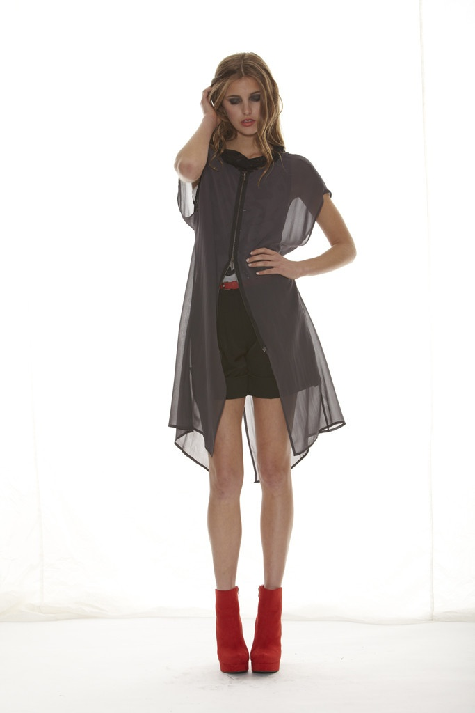 Taylor 'Shadow' Collection, Summer 12/13 www.taylorboutique.co.nz Precede Jacket - Vapour