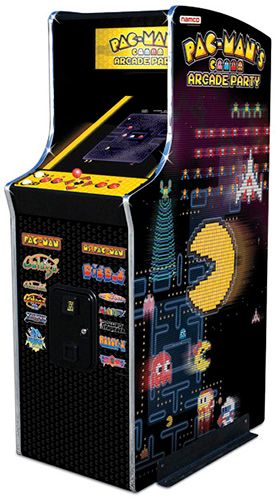 Pac Man Arcade!  Oh the hours and the quarters!!  Although Mrs. PacMan is better :) - got a mini hand one now love mrs.pac man
