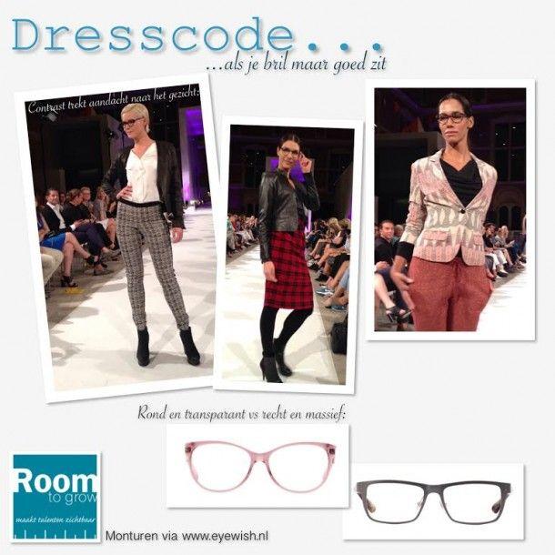 Kies de bril die bij jou en je gewenste zakelijke uitstraling past.