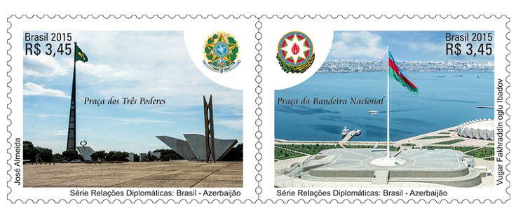 COLLECTORZPEDIA Diplomatic Relations: Brazil - Azerbaijan