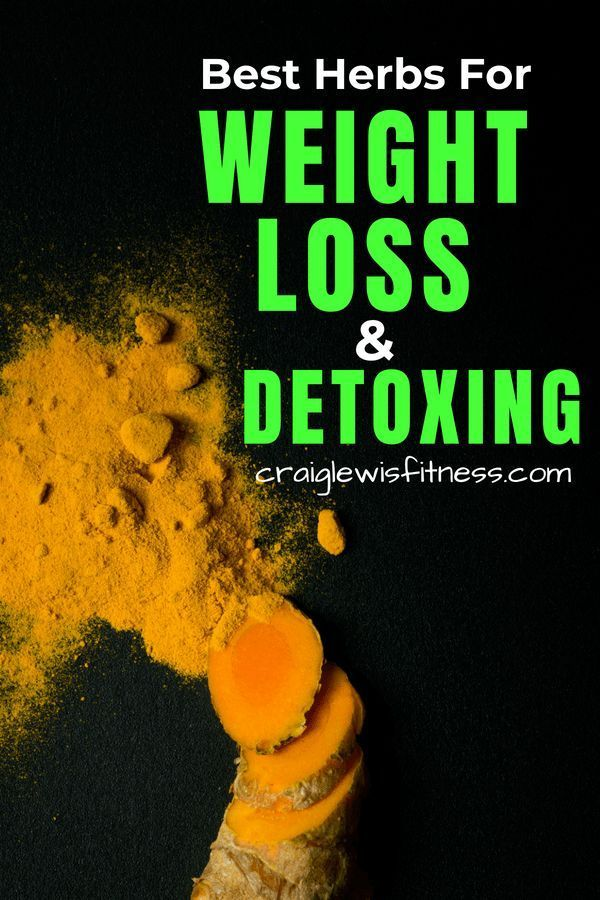 Herbs for weight loss If you're looking for the best herbs for weight loss or the best herbs for a detox then you've found the right post for you. Each of these natural herbs will help you lose weight by fully detoxing your body. #naturalherbs #healthyfood #howtoloseweight #detoxing #fatloss #craiglewisfitness