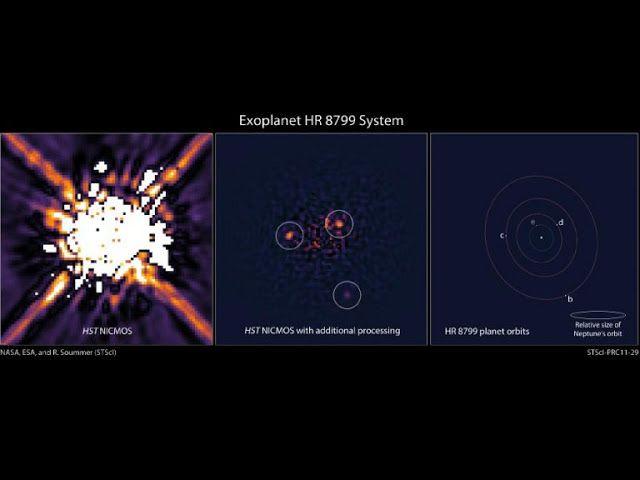 Capturado el movimiento de cuatro exoplanetas en torno a su estrella - Vega 0.0