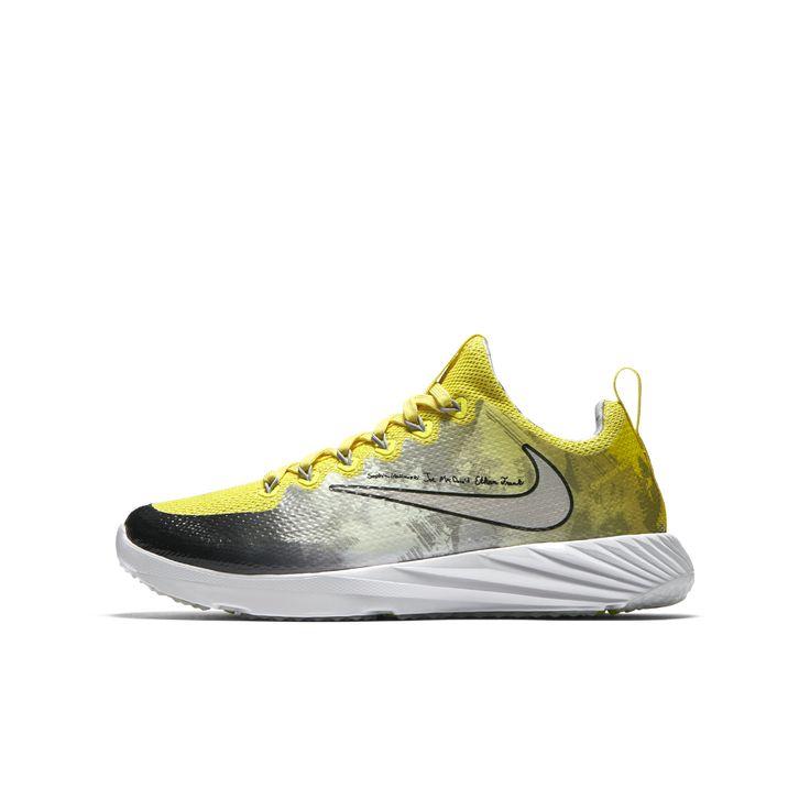 Nike Vapor Speed Turf (Doernbecher Freestyle) Big Kids' Football Shoe Size 5.5Y (Yellow)