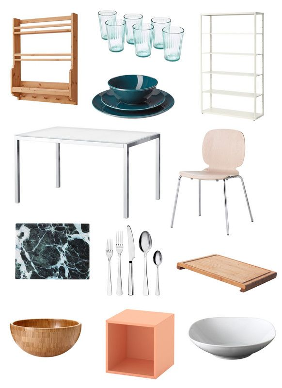 registry items for the kitchen