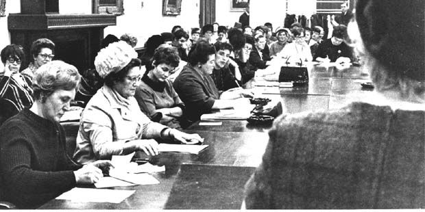 After WWII and the Universal Declaration of Human Rights, women were beginning to see the gender discrimination in Canada. Legal cases where women were being given less than what they could've been given if they were men sparked a movement. Soon an alliance of 32 women's organisations came together to pressure the government into giving women equal rights.