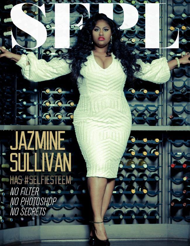 Jazmine Sullivan for Stuff Fly People Like & Hello Beautiful Jazmine Sullivan for Rolling Out http://stylishcurves.com/singer-jazmine-sullivan-is-winning-with-two-smoking-hot-magazine-covers/