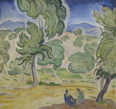 Πεύκα στην Κέρκυρα - View - National Gallery