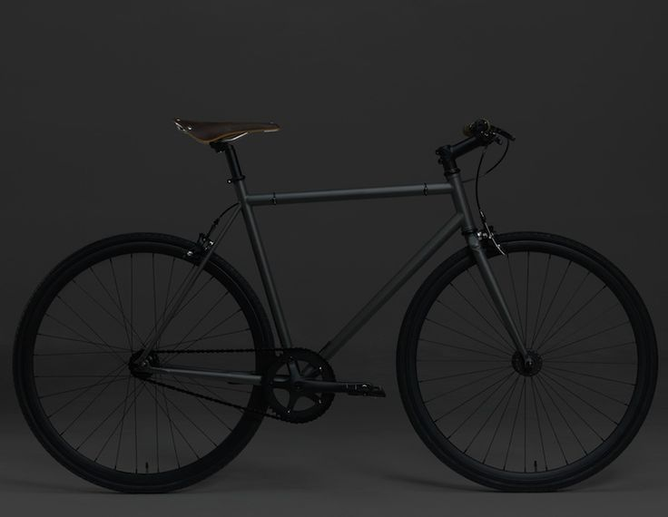 All black... JAMES PERSE DESIGNS SINGLE SPEED CITY CRUISER BIKE