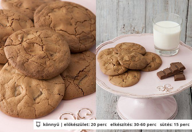 Martha csokis keksze | NOSALTY – receptek képekkel