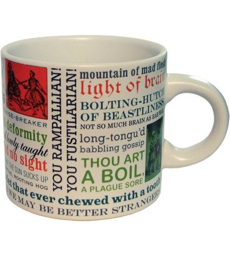 Shakespearean Insults Mug