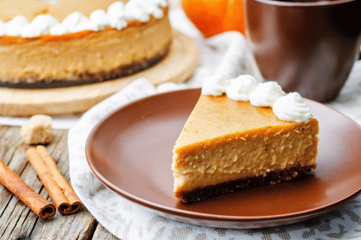 Pumpkin Tofu Cheesecake | The Dr. Oz Show