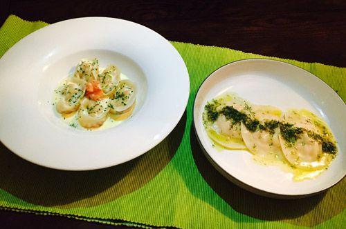 Life's a Feast: Cheat's salmon ravioli, two ways