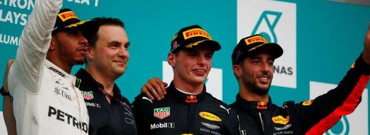 Grand Prix de Malaisie 2017: Et de 2 pour Verstappen