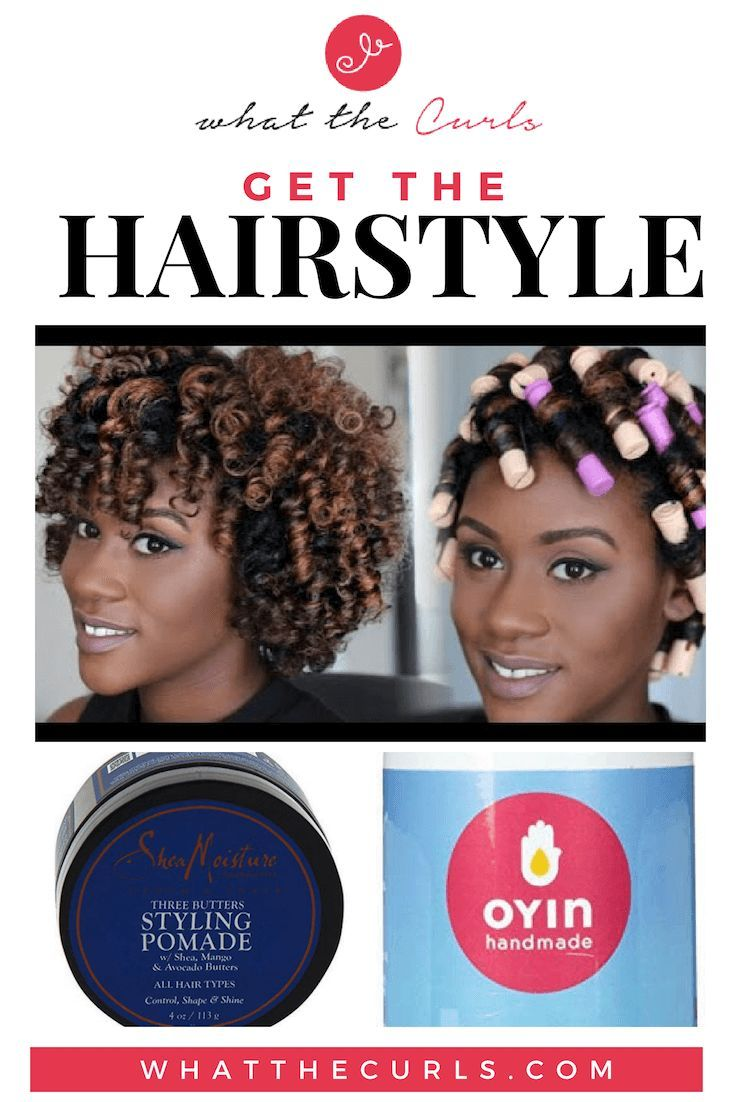 Perm Rod Set Tutorial for Natural Hair