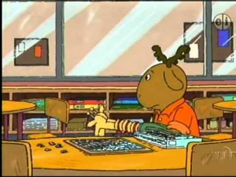 A scene for the children's show Arthur that  explains in a kid-friendly way how a kiddo with autism sees things.