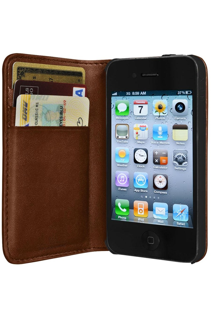 Hex Code Wallet For iPhone 4/4S