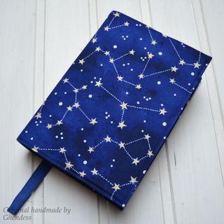 Univerzální obal na knihu - Souhvězdí/modrá I