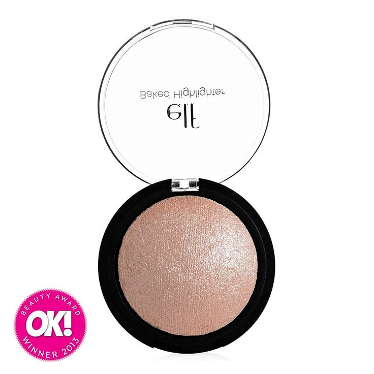 ELF Studio Baked Highlighter in Blush Gems (dupe of MAC Soft and Gentle)