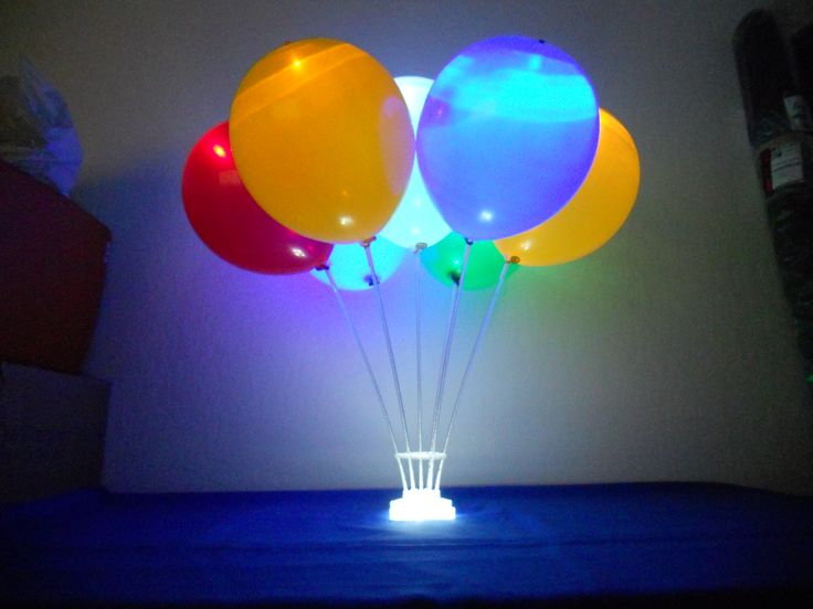 Led Balloon Centerpiece : Best our air filled balloon accessories images on