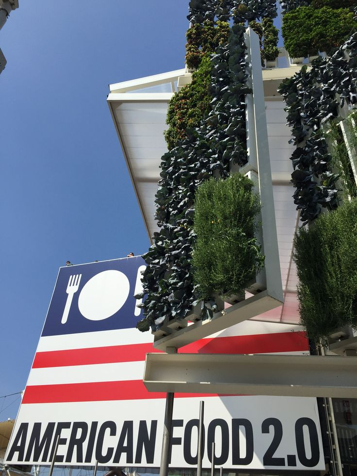 #Gogreen with  #USA at  #Expo2015