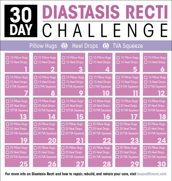 Exercises to Repair Diastasis Recti | How to Heal Diastasis Recti
