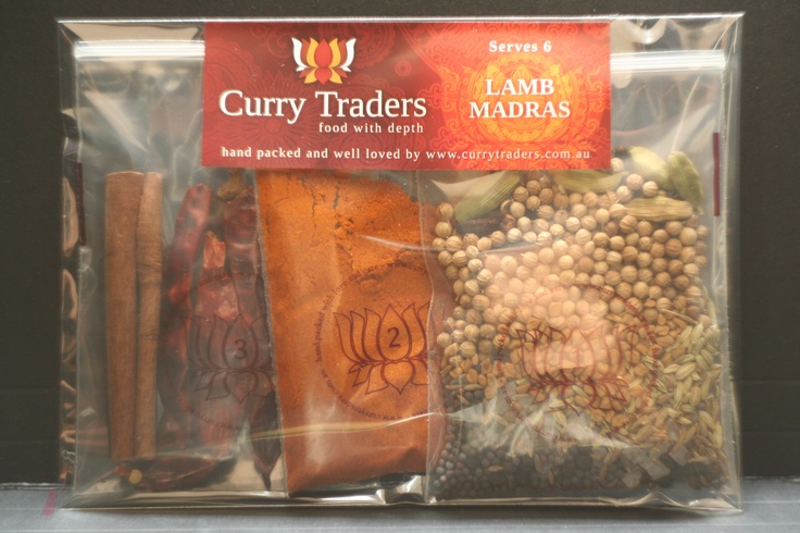 Lamb Madras. Our AWARD WINNING curry kit.