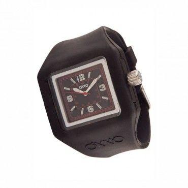 Unisex fashion ρολόι OYYO της συλλογής Juicy Quad από σιλικόνη και πλαστικό. Εγγύηση 2 ετών της επίσημης αντιπροσωπείας. ST-JC-2029 #Oyyo #τετραγωνο #μαυρο #σιλικονη #ρολοι