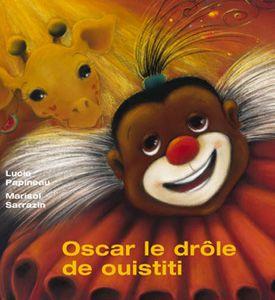 Oscar est un drôle de ouistiti : il a le vertige. Pour un singe, ce n'est pas très pratique ! Gilda la girafe et ses amis invitent Oscar à faire un numéro dans leur cirque. Oscar y apprivoisera ses peurs : celle des hauteurs, et celle d'être différent...