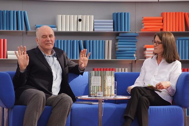 Hanns Zischler auf der LBM 2012