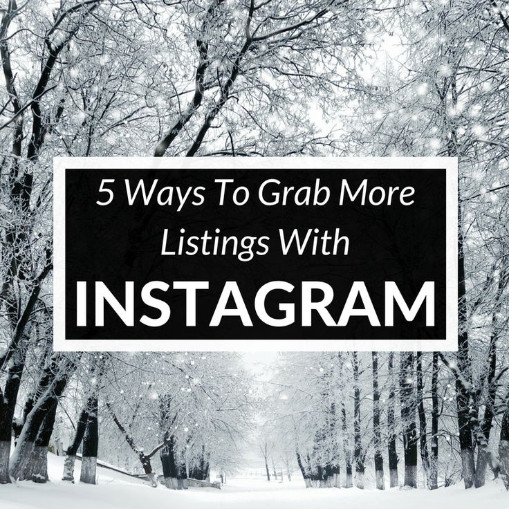 Ready to add Instagram to your real estate marketing funnel? Find out how to land more leads and listings as an agent on Instagram