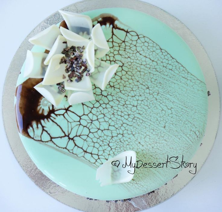 51 Best Mirrored Cake Glaze Images On Pinterest