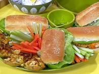 Hot Buffalo Chicken Sandwiches/Rachel Ray